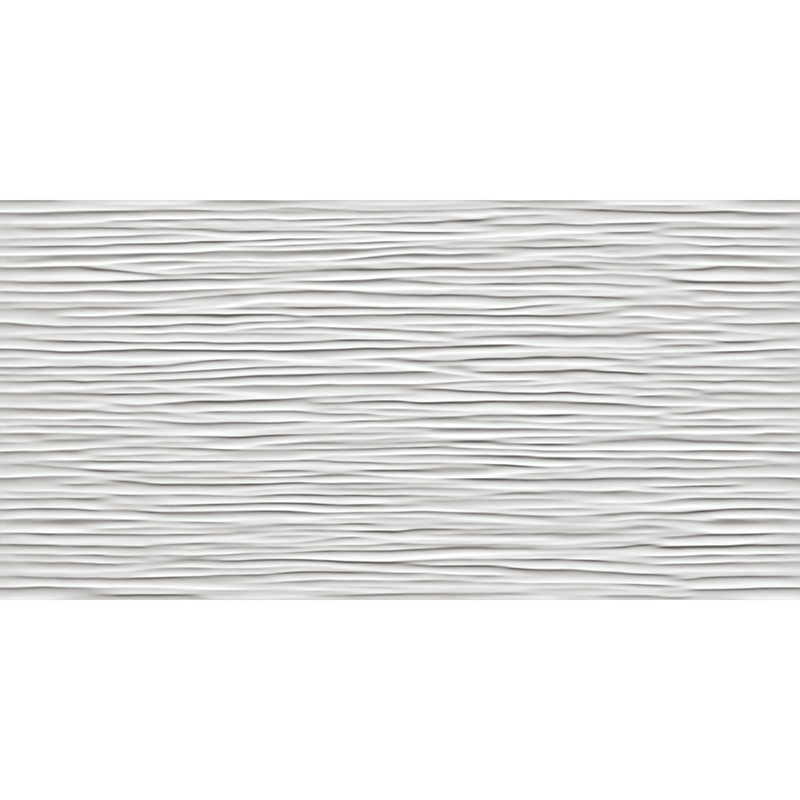 კერამიკული ფილა 3D WAVE WHITE Glossy